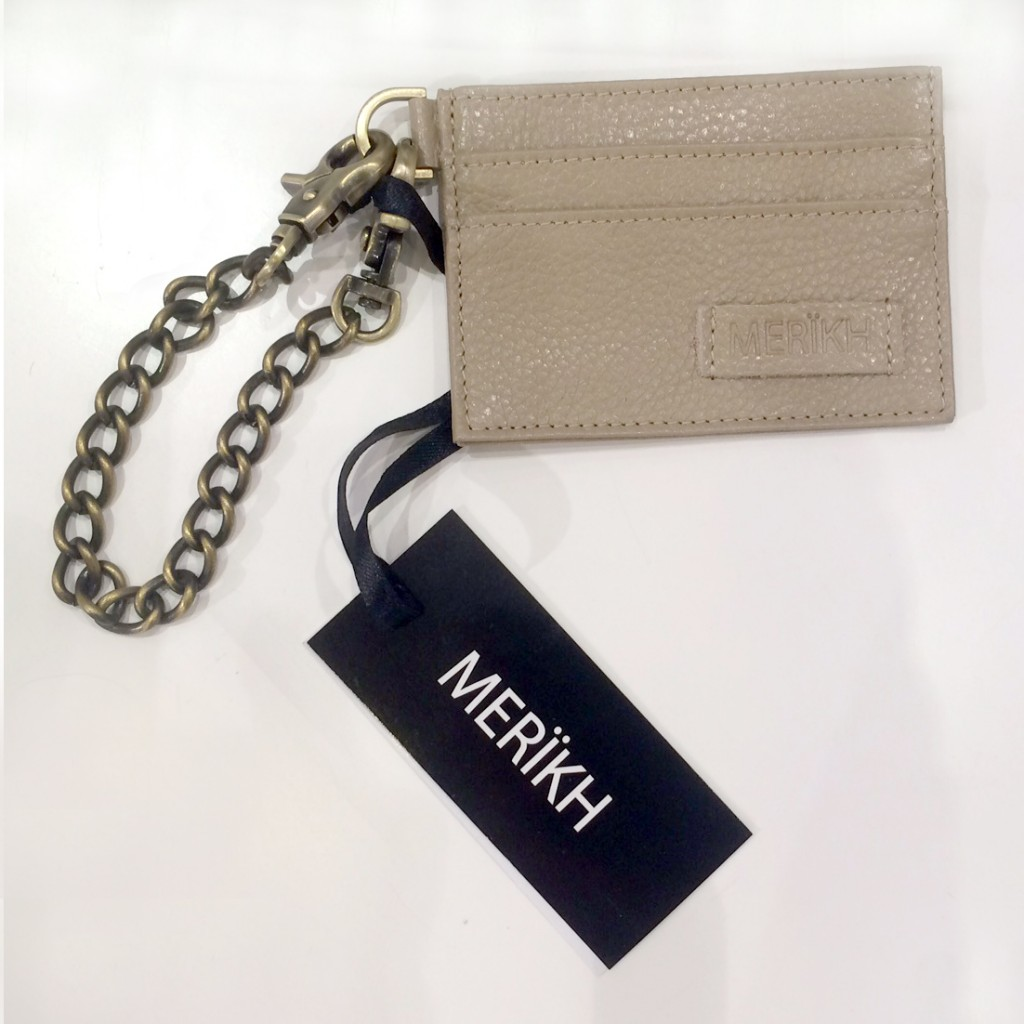 M009 Card holder - Beige