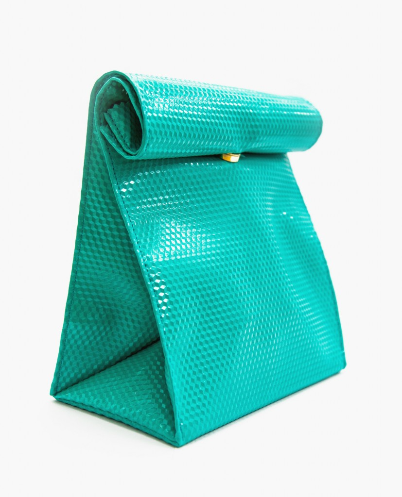 smk_exclusive_green_paper_clutch_bag_angle